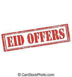 Eid ofrece