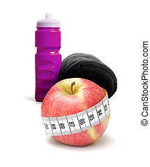 Ejercicio y comida saludable