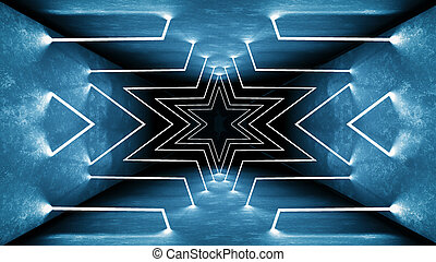 eléctrico, 80s, encendido, laser, interior., túnel, template., design., lines., vibrante, wallpaper., moderno, reflexión., iluminación, perspectiva, 3d, fue adelante, luz de neón, render, fluorescente, lámpara, mate, retro, geométrico, pasillo, brillo, club, pared, futurista, interior, habitación, show., luces, concreto, resumen, fondo., interrior, tecnología, colors., noche, brillante, telón de fondo., arquitectura, interpretación