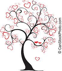 El árbol de San Valentín