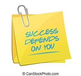 El éxito depende de que lo publiques