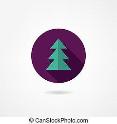 El ícono de Fir-tree