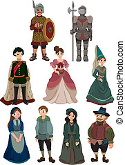 El ícono de la gente medieval
