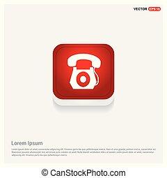 El ícono del teléfono