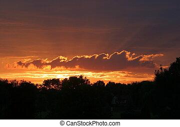 El amanecer de Ohio