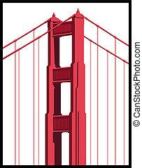 El arte del puente Golden Gate