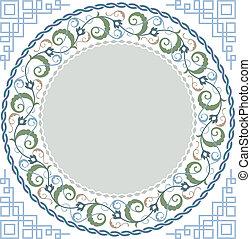 El arte floral islámico