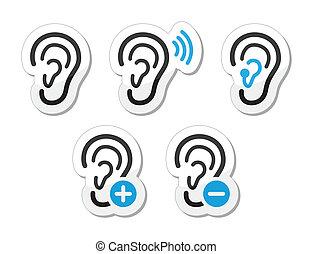 El audífono es sordo