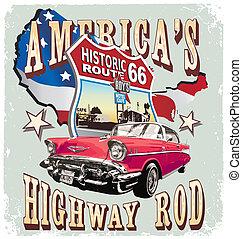 El auto clásico de América