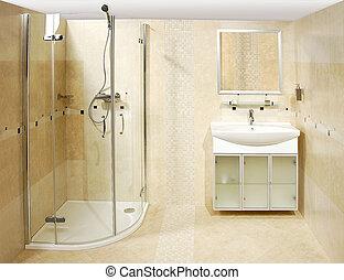 El baño de lujo