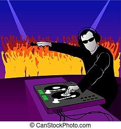 El baile del DJ