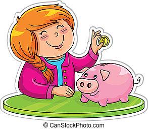 El banco de los cerdos