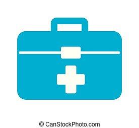 El botiquín médico es urgente