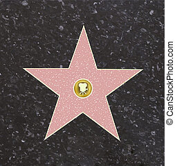 El camino de la estrella de la fama