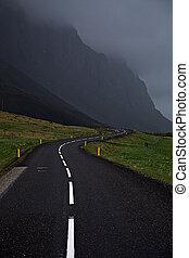 El camino de los anillos de Islandia
