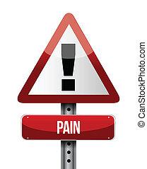 El camino del dolor indica ilustraciones