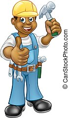 El carpintero negro