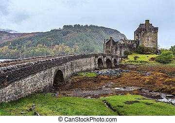 El castillo de Eilan Donan en Escocia