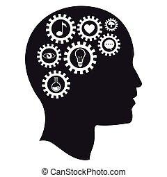 El cerebro engrana los medios de inteligencia