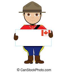 El chico de los carteles de Canadá