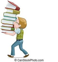 El chico de los libros