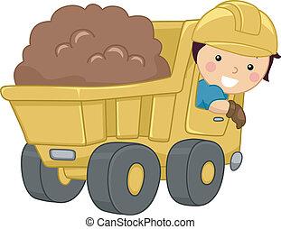 El chico del camión de basura