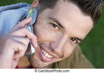 El chico del teléfono