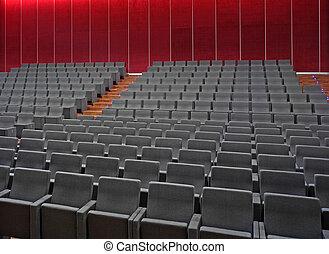 El cine está vacío
