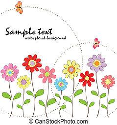 El color primaveral de la floral