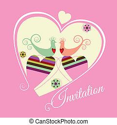 El compromiso ahorra la invitación rosa