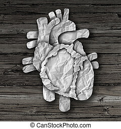 El concepto de órgano humano del corazón