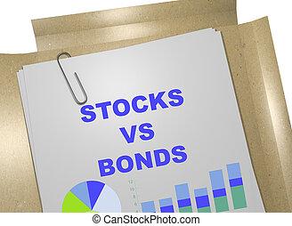 El concepto de acciones contra bonos