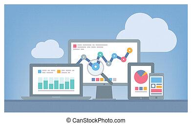 El concepto de análisis web y SEO
