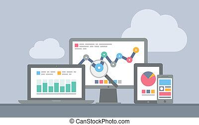 El concepto de analíticos Web y móvil