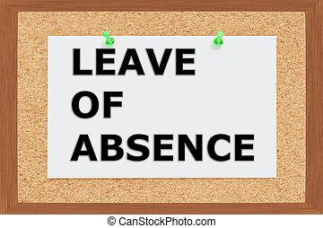El concepto de ausencia