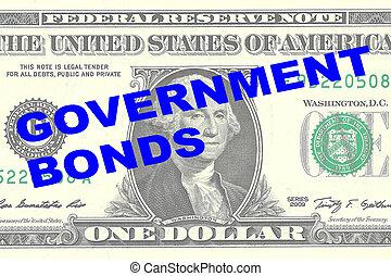 El concepto de bonos del gobierno