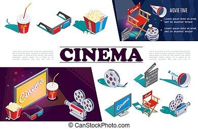 El concepto de cine isométrico