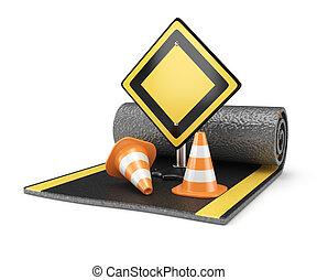 El concepto de construcción de carreteras