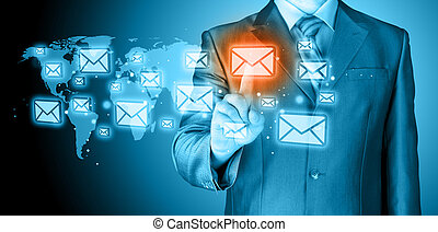El concepto de correo de empresario