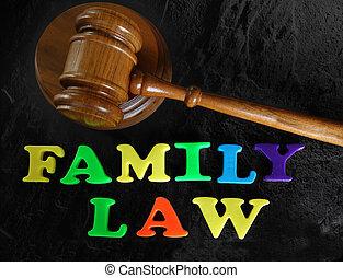 El concepto de derecho familiar