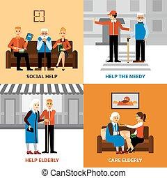 El concepto de diseño de Voluntarios 2x2