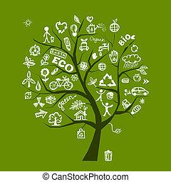 El concepto de ecología verde para tu diseño
