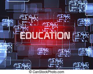 El concepto de educación