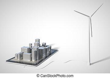 El concepto de energía verde