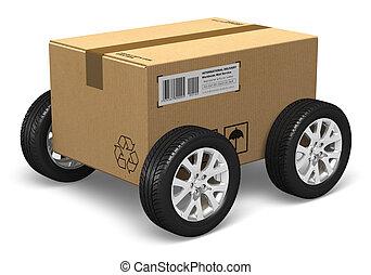 El concepto de envío y envío