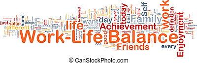 El concepto de equilibrio de la vida