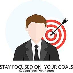 El concepto de estrategia de negocios es plano