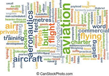 El concepto de fondo de aviación