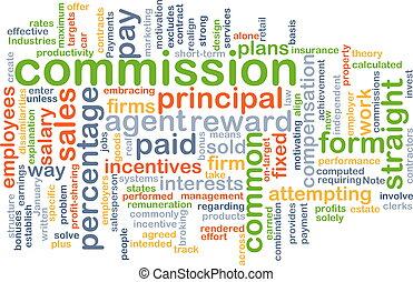 El concepto de fondo de la Comisión