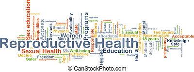 El concepto de fondo de salud reproductiva